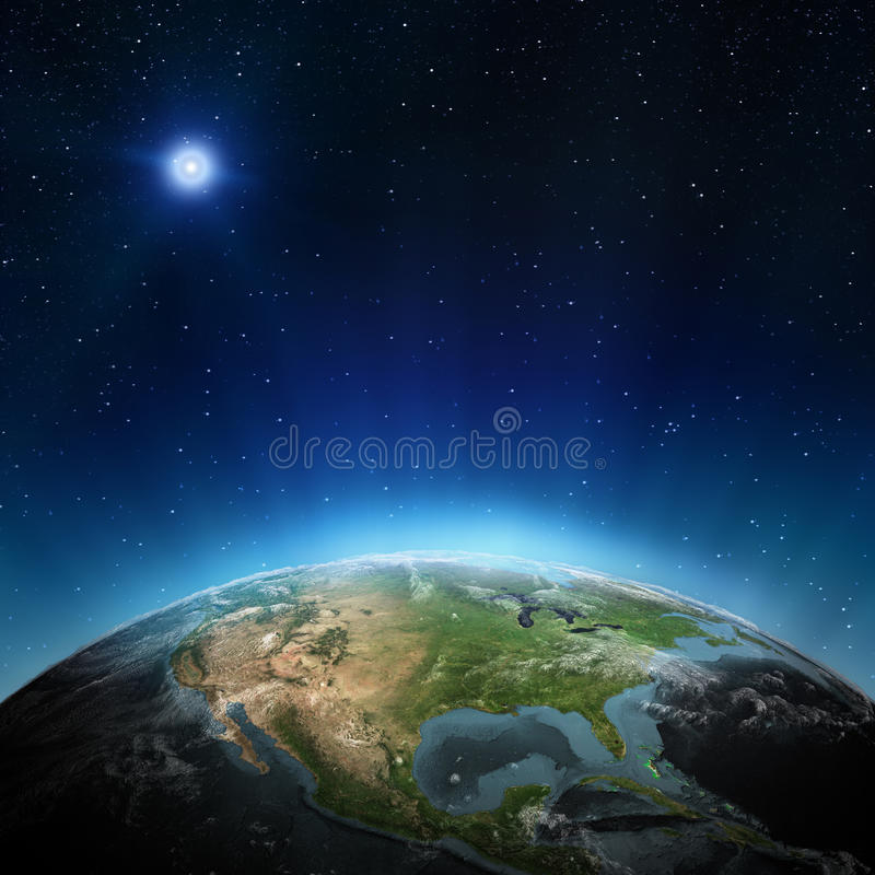 Download North America stock illustration. Image of computer, rays - 27014912