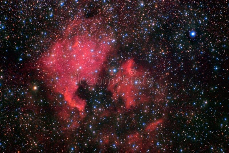 North America nebula royalty free stock photography