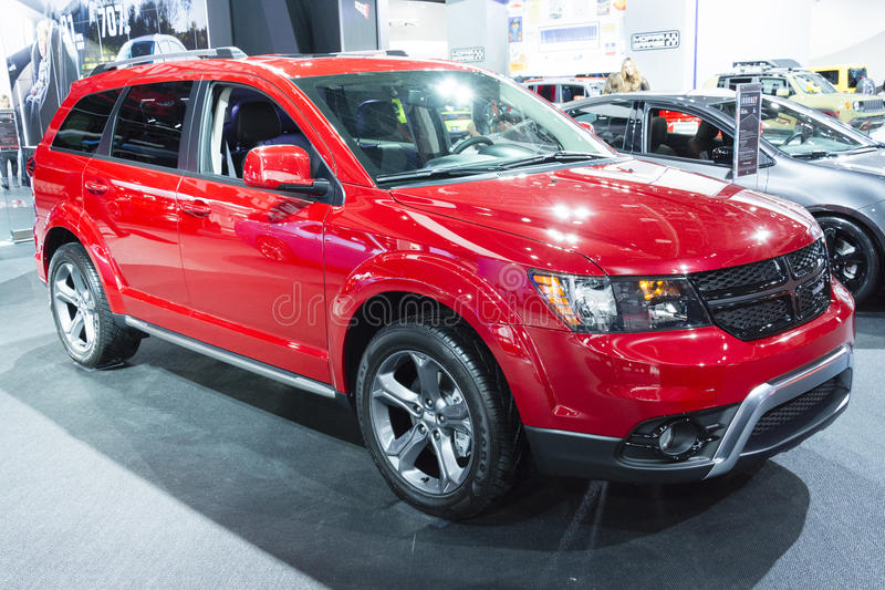 North American International Auto Show 2015 stock image