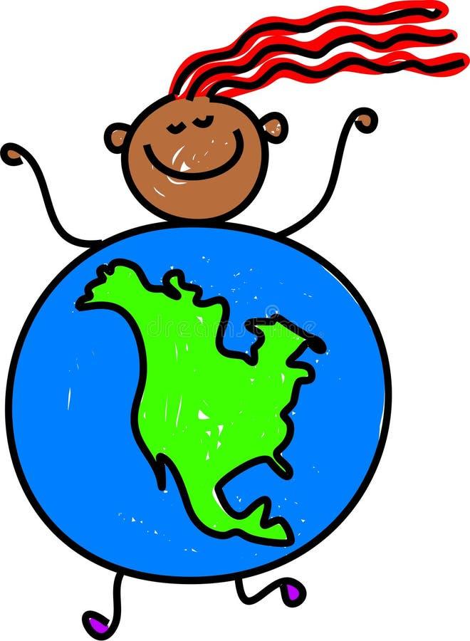 Download North American kid stock illustration. Image of illustrations - 1668538