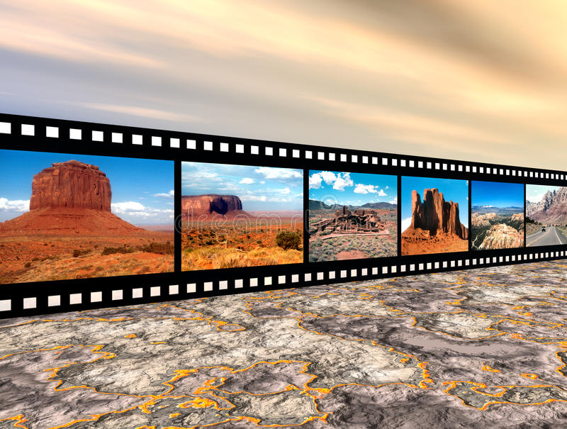 North American Landscapes Royalty Free Stock Image