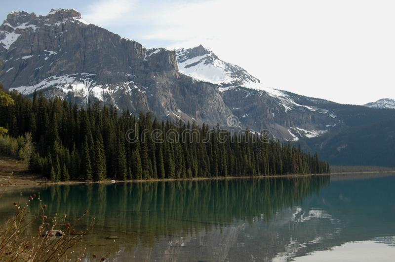 Download North American Mountainsand Lake Stock Image - Image of early, pristine: 9472237