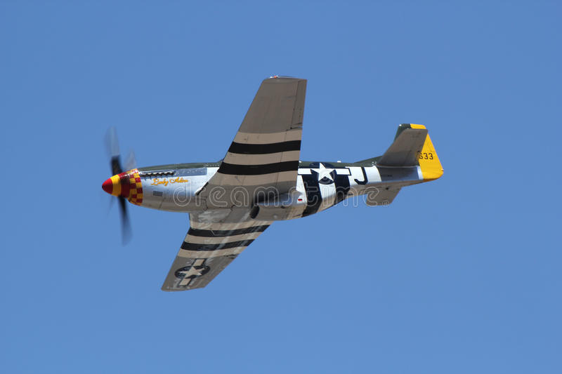 North American P-51 Mustang stock photography