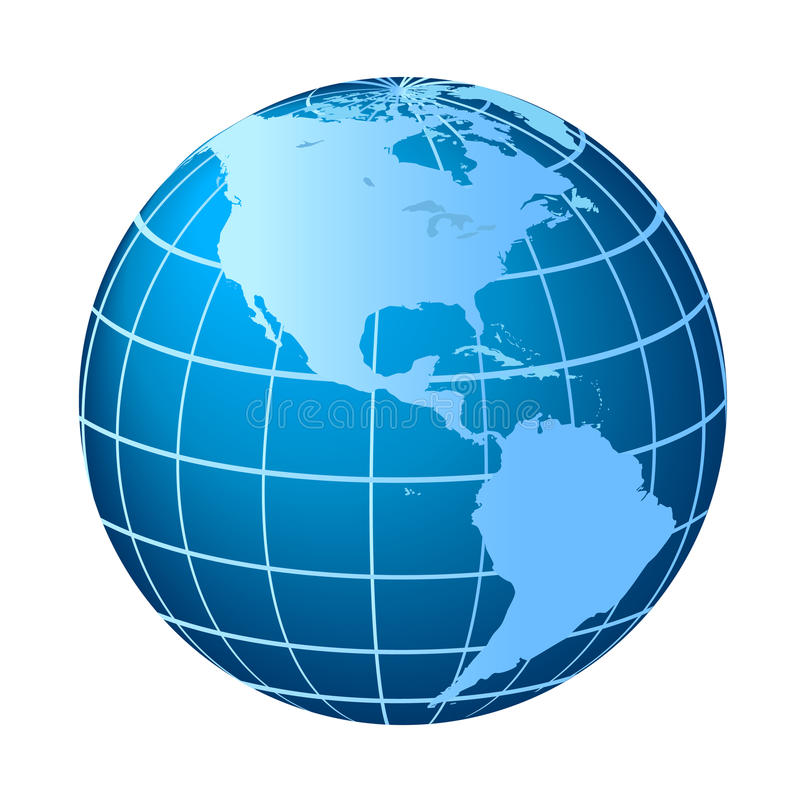 Free North And South America Globe Royalty Free Stock Image - 14534556