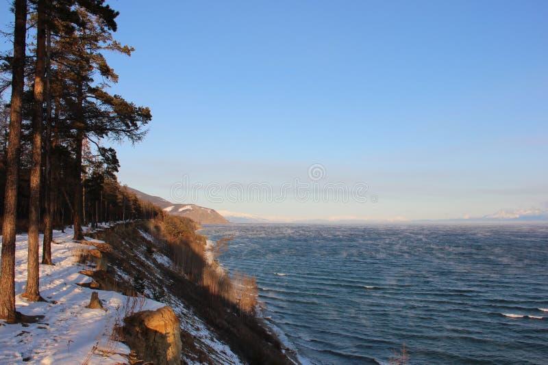 North Baikal Russia Buryatia Autumn royalty free stock image