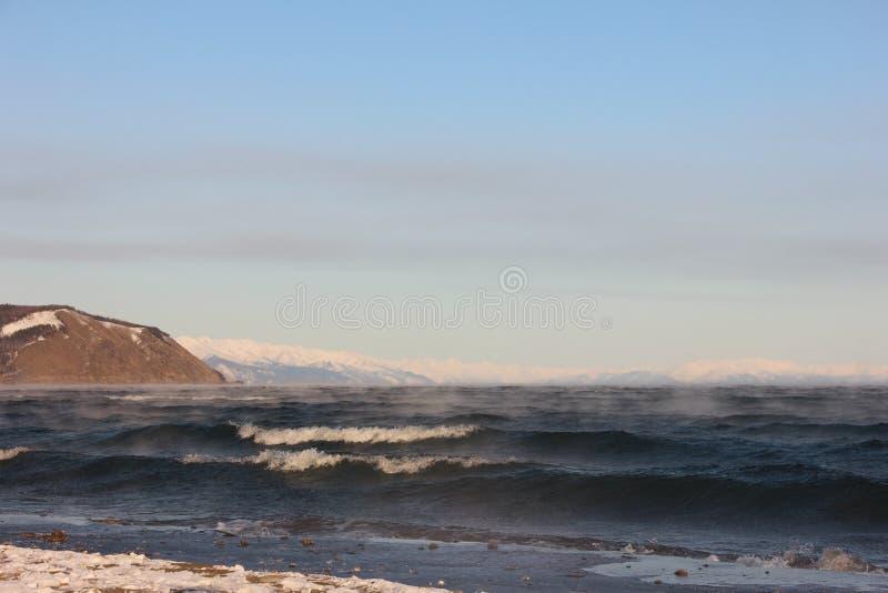 North Baikal Russia Buryatia Autumn stock images