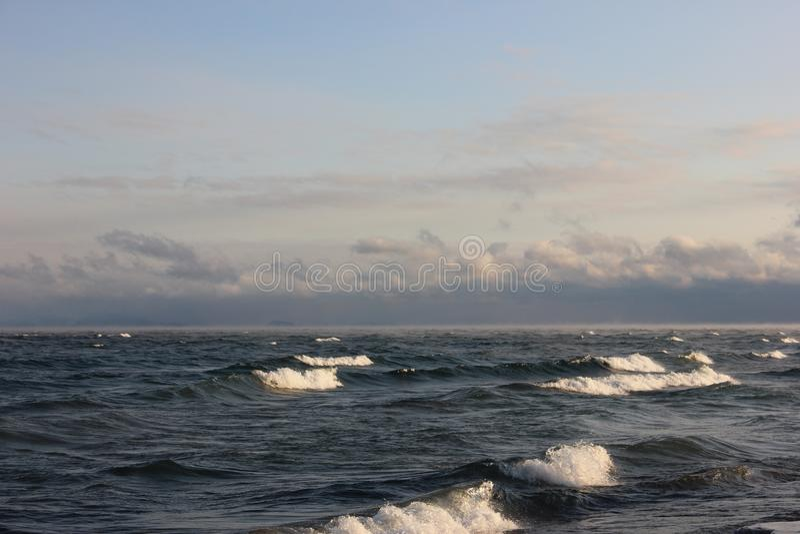 North Baikal Russia Buryatia Autumn stock photo