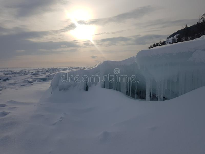 North Baikal Russia Buryatia Winter stock photos