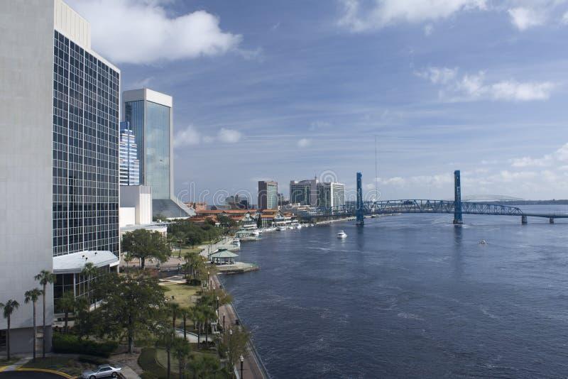 North bank Jacksonville Florida royalty free stock photography