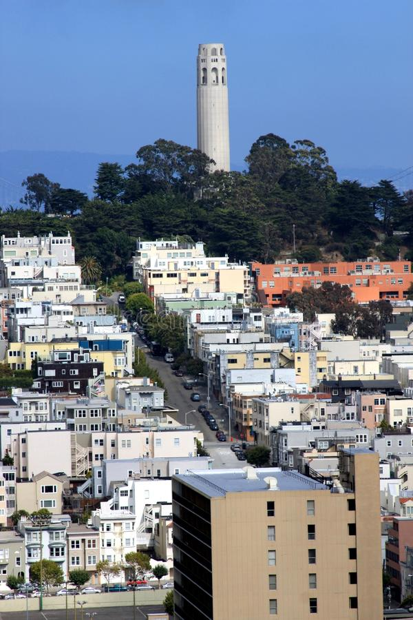 Free North Beach Coit Tower In San Francisco Stock Photography - 17571312