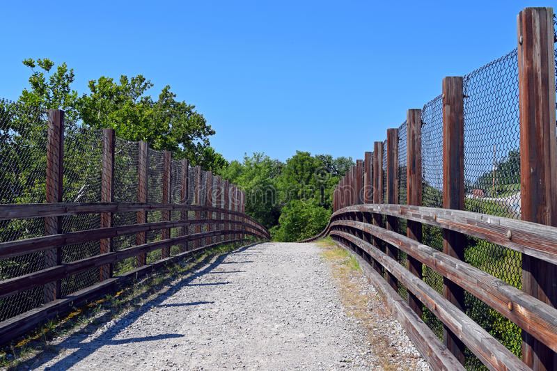 North Bend Rail Trail royalty free stock photo