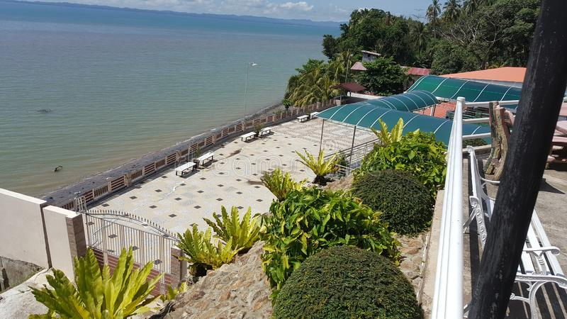 North Borneo seaside royalty free stock photo
