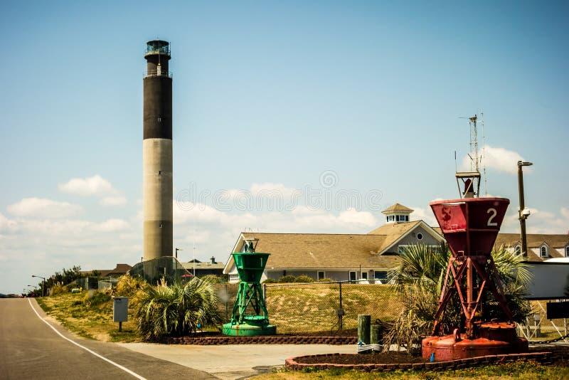 North carolina oak island lighthouse royalty free stock image