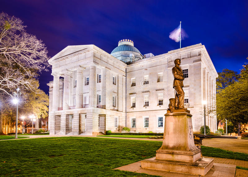 North Carolina State Capitol stock photography
