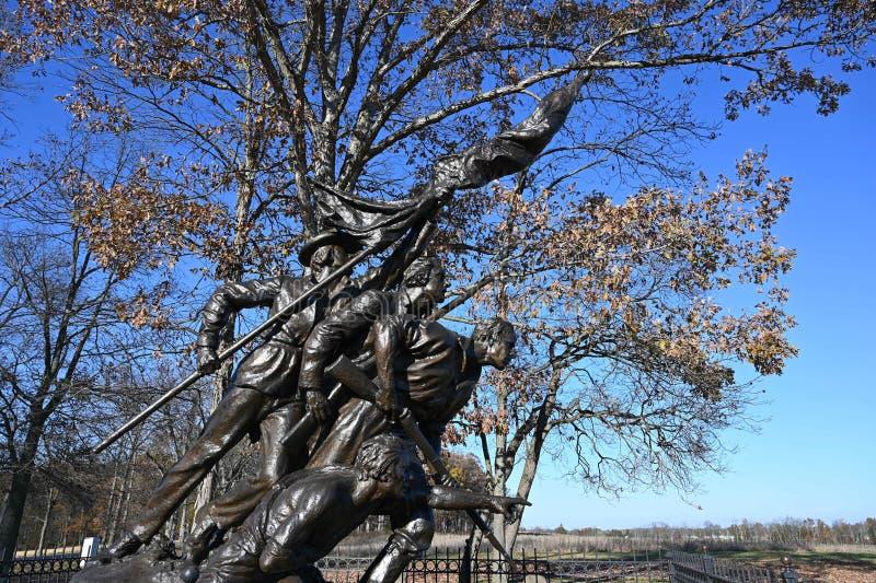 North Carolina Monument stock photography