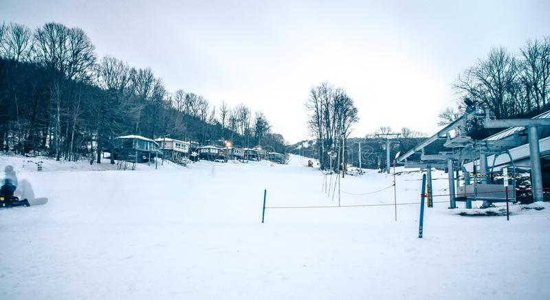 North carolina sugar mountain skiing resort destination royalty free stock photography