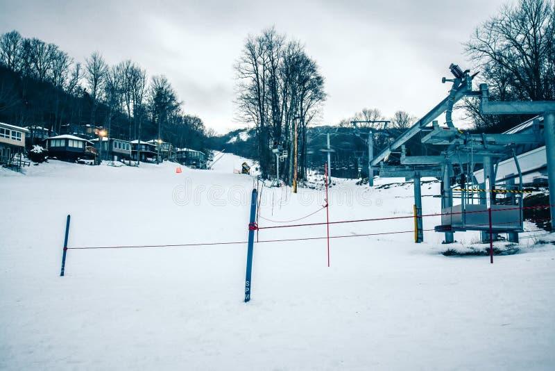 North carolina sugar mountain skiing resort destination royalty free stock images