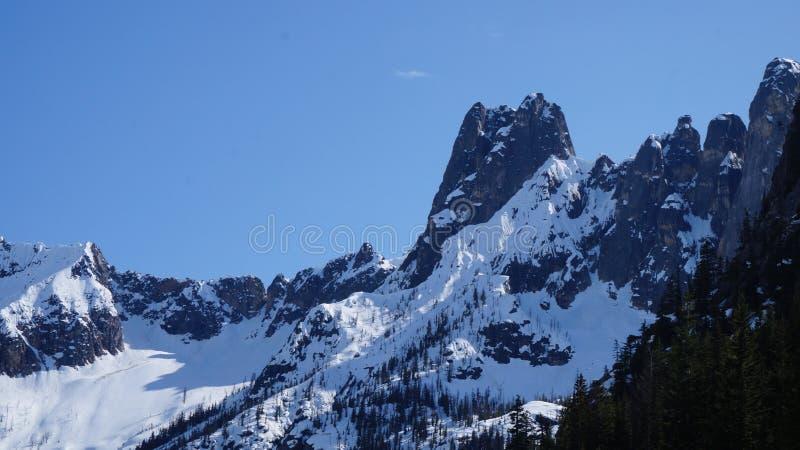 North Cascade Moutain Range, Washington State, USA stock photos