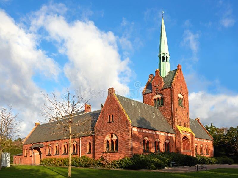 North Chapel In Vestre Cemetery Copenhagen Stock Image Image Of - Where is copenhagen located