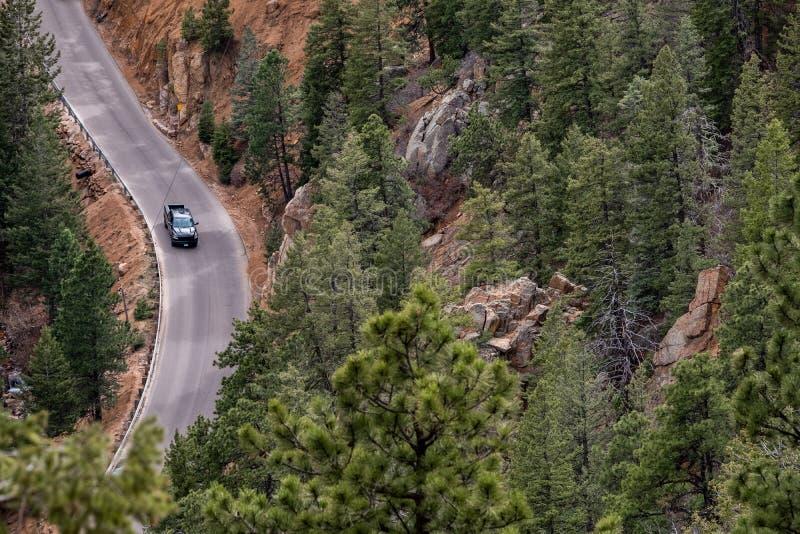 North cheyenne canyon canon colorado springs stock photos