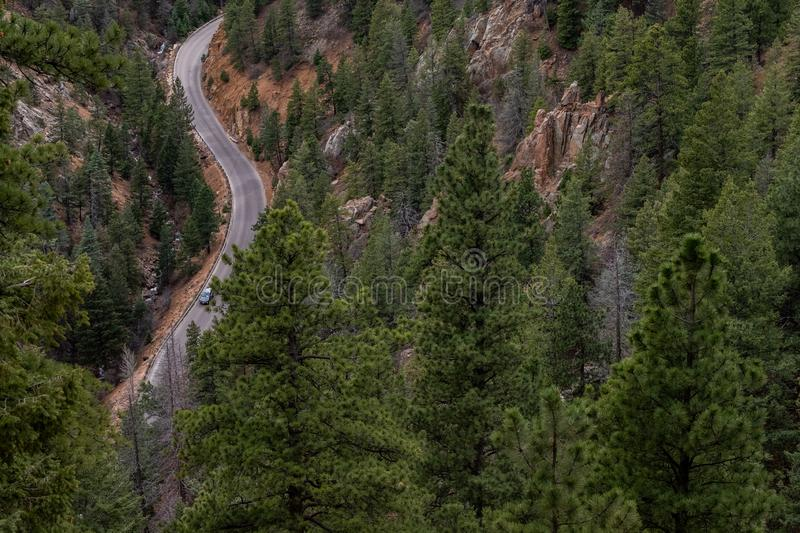 North cheyenne canyon canon colorado springs royalty free stock photography