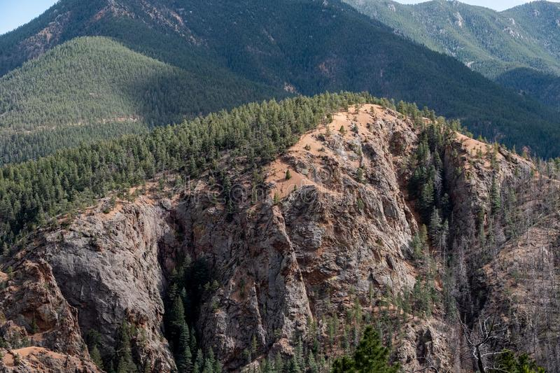 North cheyenne canyon canon colorado springs royalty free stock image