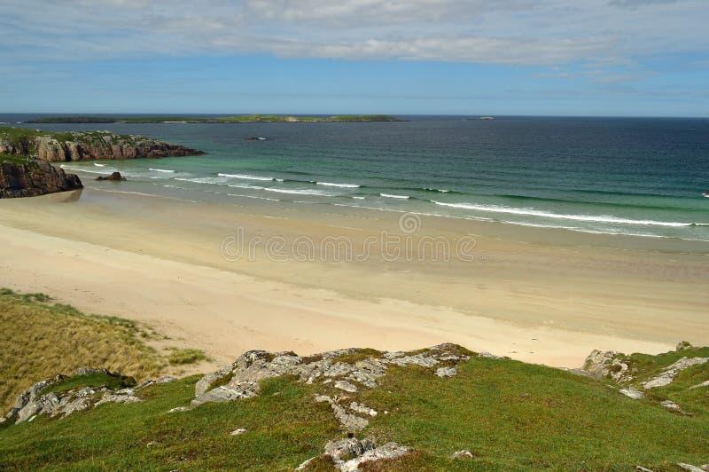 beautiful beach on the North Coast 500, Scotland United Kingdom Europe stock images