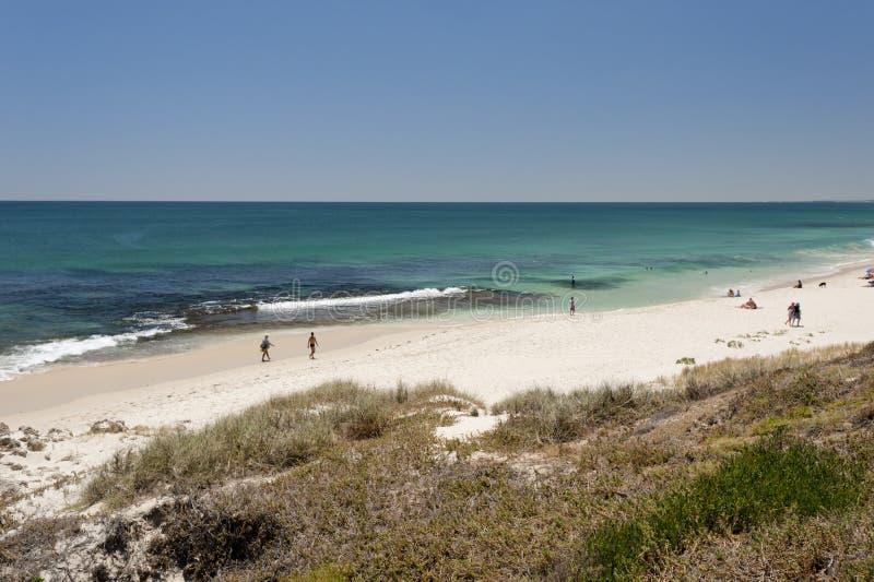 North Cottesloe Beach, Perth, Western Australia stock image