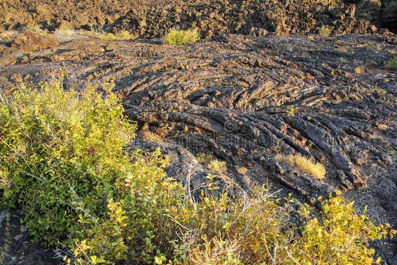 North Crater Flow Trail, Craters of the Moon National Monument, Idaho, USA royalty free stock photos