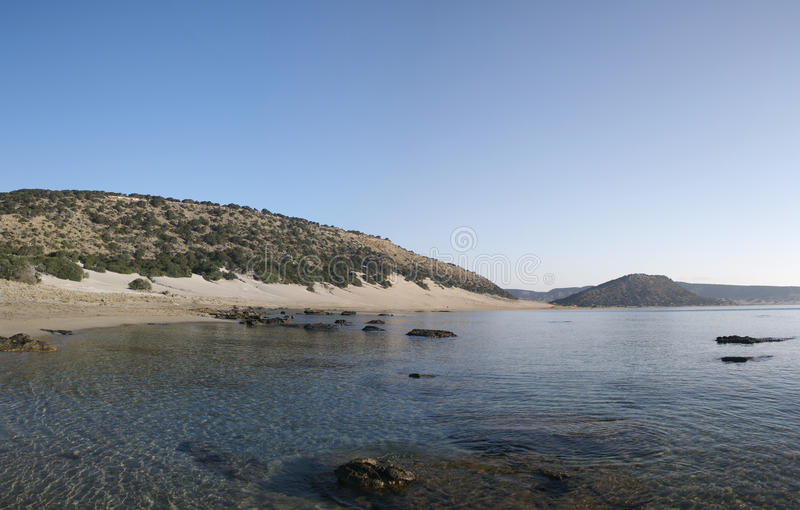 North Cyprus Karpazi panorama 02 stock photography