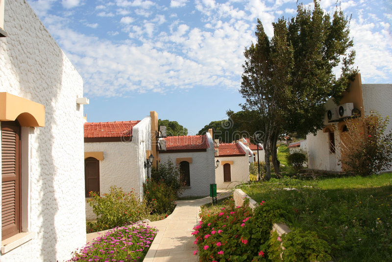 North Cyprus Village royalty free stock photos