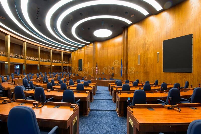 North Dakota House Chamber stock image