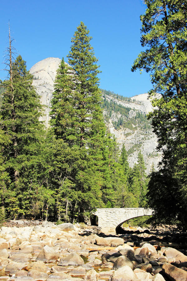 Download North Dome Yosemite National Park California USA Stock Image - Image: 27269127