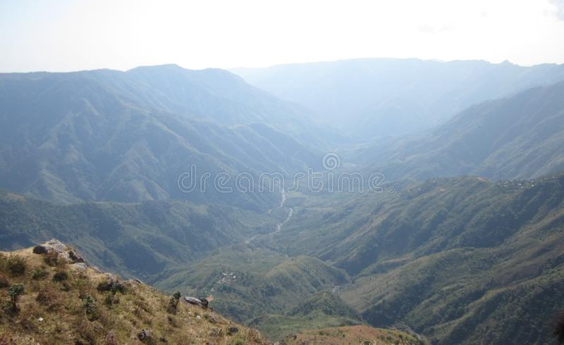 NORTH EAST INDIA HILLS royalty free stock photos