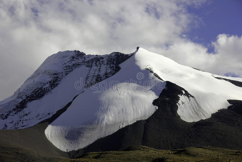 North Face Of Kang Yatse Stock Photo Image Of Kangyatse 45376940