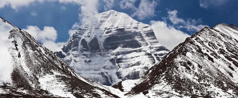 North Face Of Mount Kailash Tibet Stock Photo Image Of Ngari