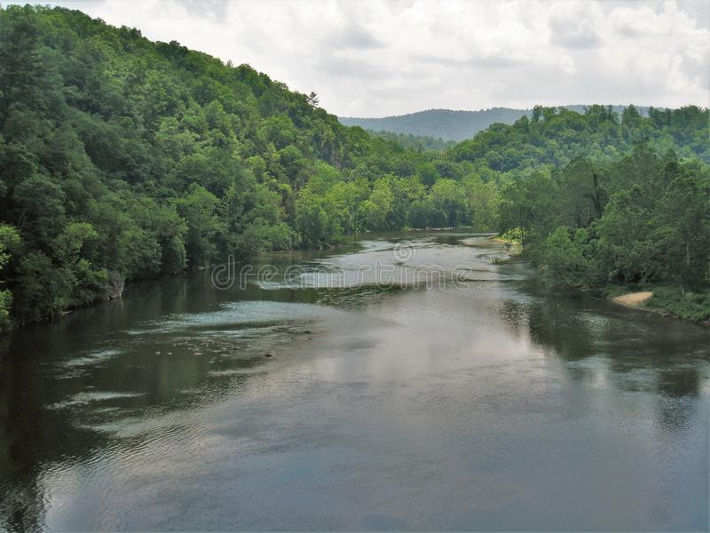 North Fork New River royalty free stock images