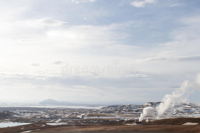 Download North Iceland landscape stock image. Image of cheap, snow - 26590359