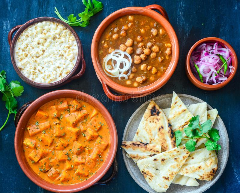 North Indian Platter royalty free stock photos
