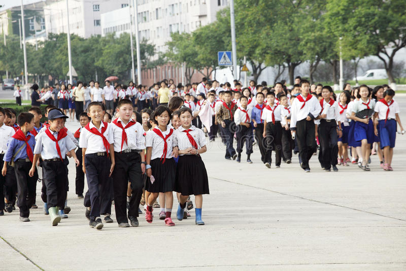 Download North korea 2011 editorial stock image. Image of boys - 20306079