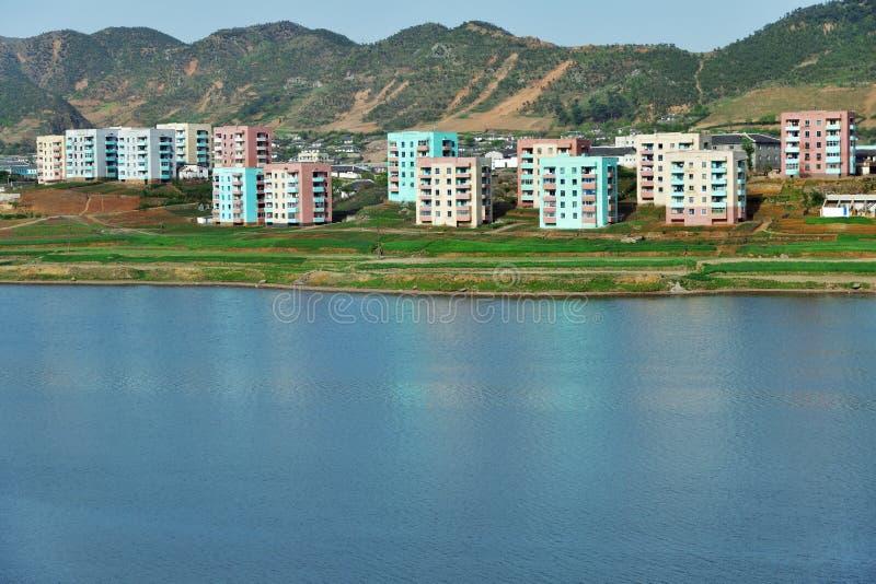 North Korea. Countryside royalty free stock photos