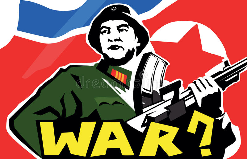 Download North Korean soldier stock vector. Image of army, helmet - 30225200