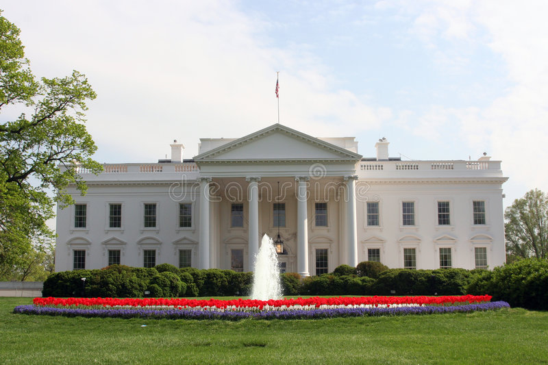 Download North Lawn stock image. Image of government, america, south - 2399441