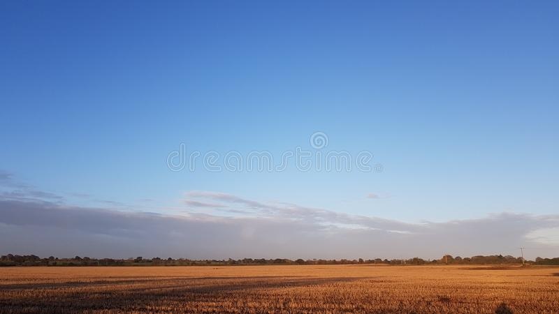 Autumn sky with Amazing Cloud royalty free stock images