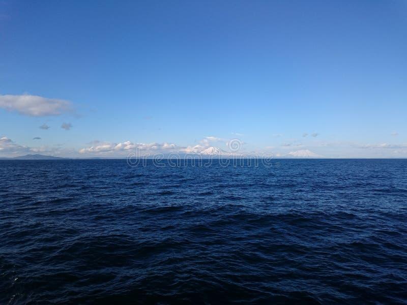 north Overzees Rossiya ostrov, Wrangell stock foto
