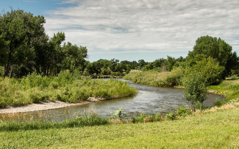 North Platte River imagem de stock