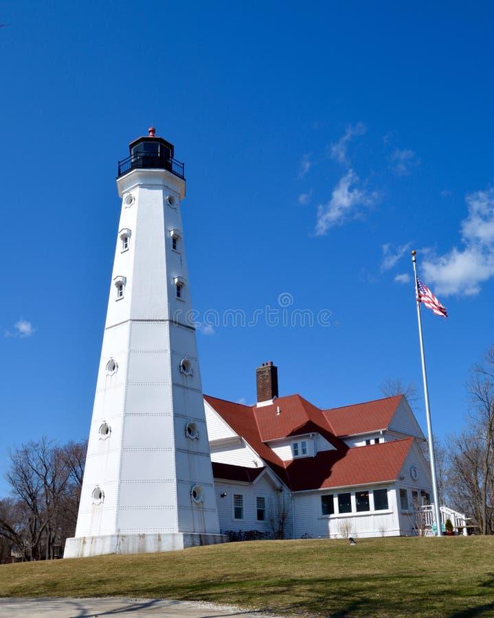 North Point Leuchtturm stockfotografie