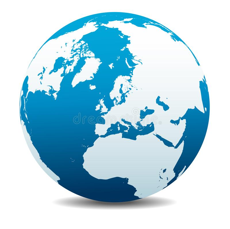 Free North Pole Europe Top Of The World, Planet Earth Icon Stock Photo - 111099150