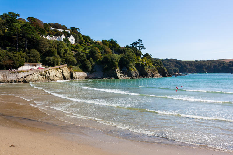 North Sands beach Salcombe Devon. North Sands beach at Salcombe in the South Hams district of Devon South Devon England UK Europe royalty free stock images
