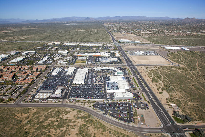 Download North Scottsdale stock image. Image of multi, loop, road - 37647949